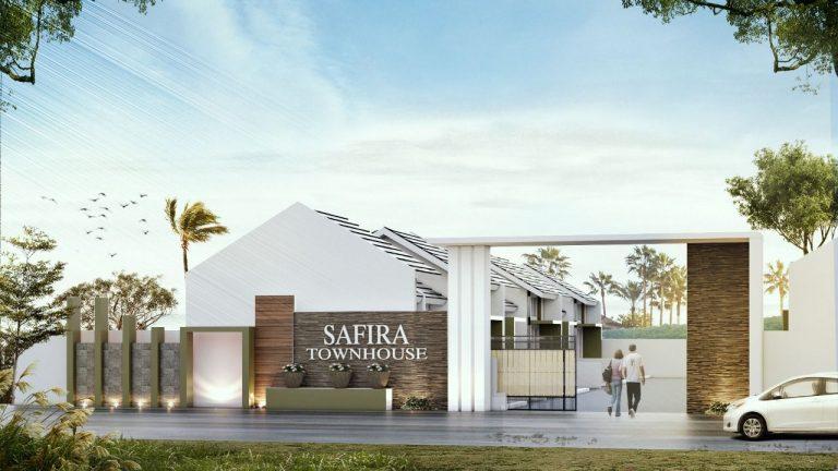Safira town house Gunung Sindur