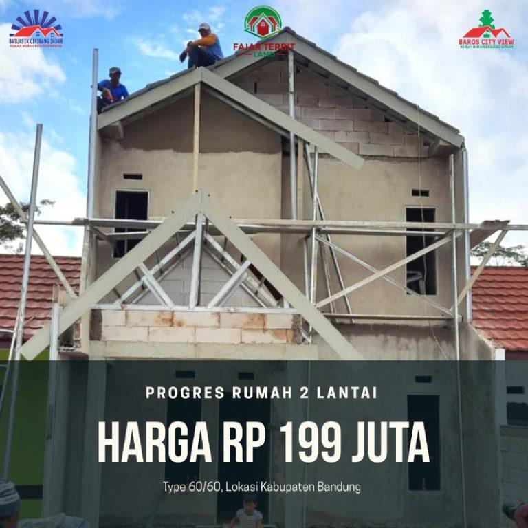 Baros City View Bandung 190 juta
