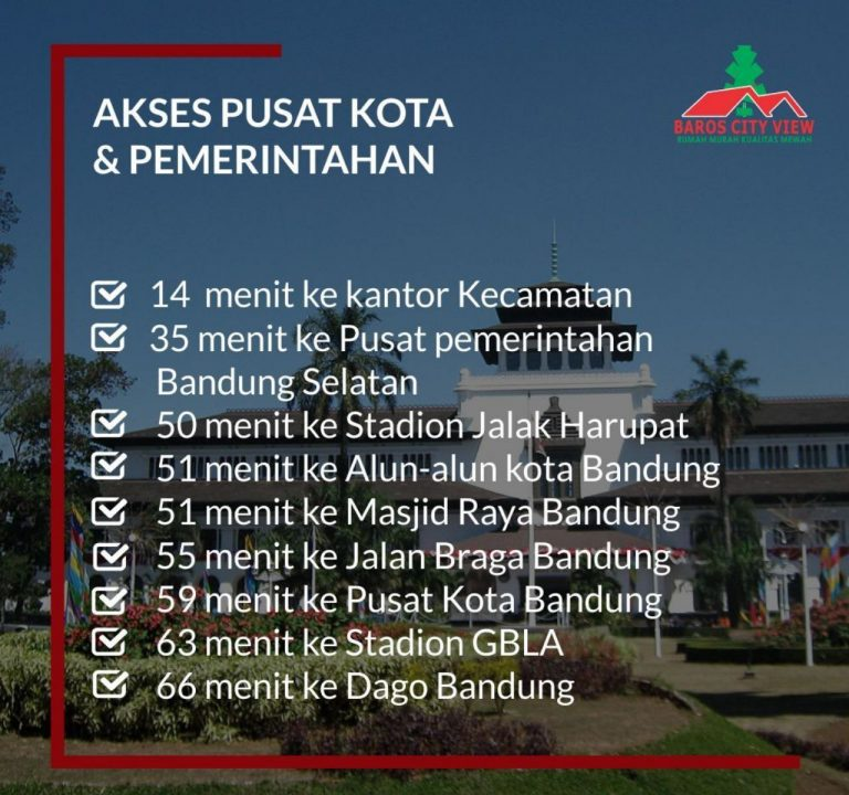 Baros City View Bandung 14