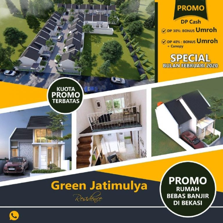 Green Jatimulya Residence Tambun Selatan Bekasi 2