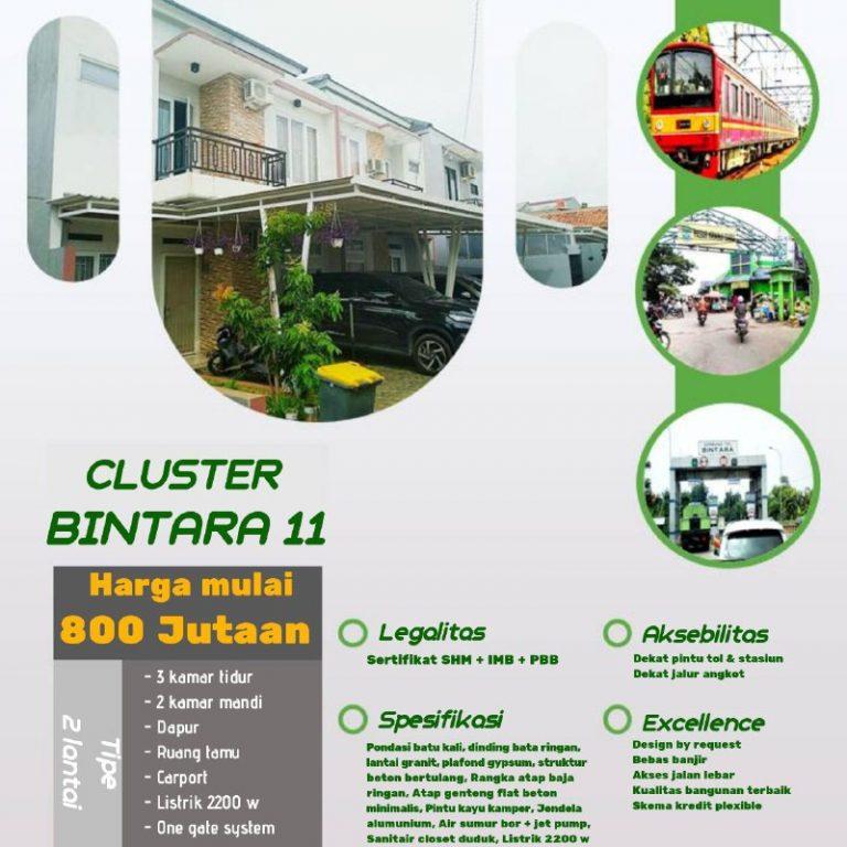 Cluster 11 Bintara 4