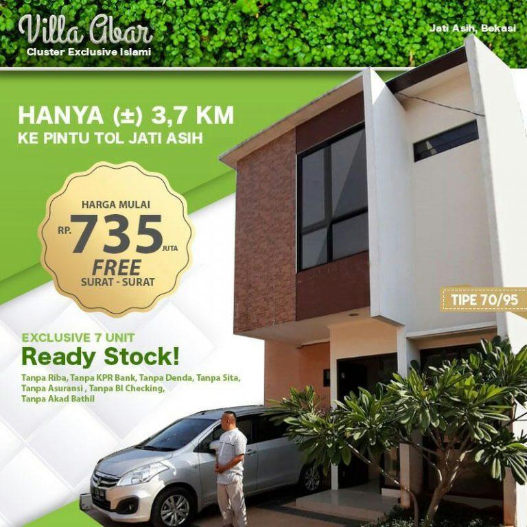 Villa Abar Jatiasih Bekasi 1