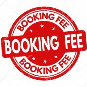 booking fee